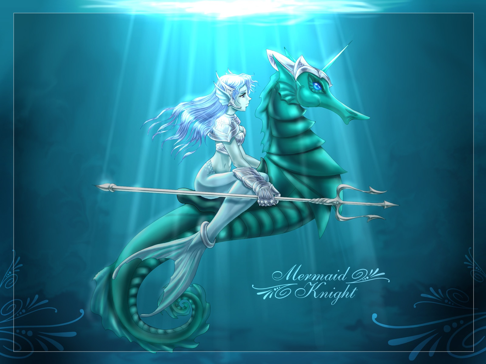 [49+] Anime Mermaid Wa...
