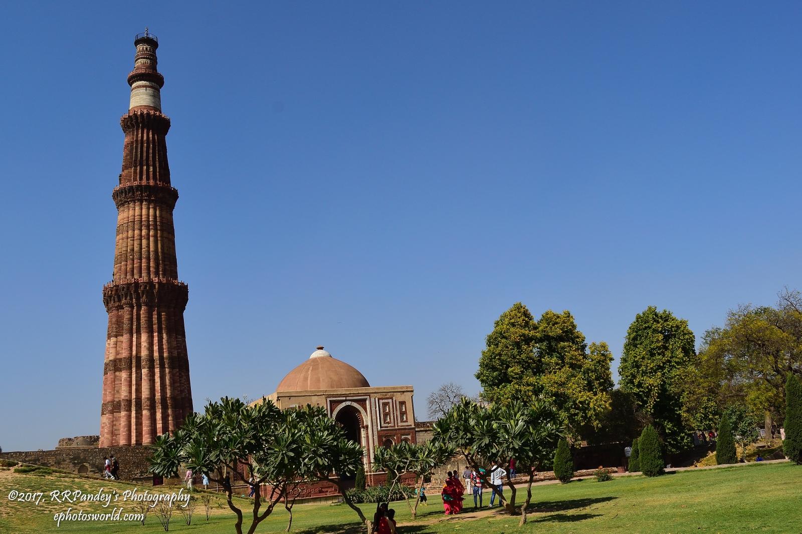 Qutub Minar New Delhi Park Wallpaper 28426   Baltana 1600x1066