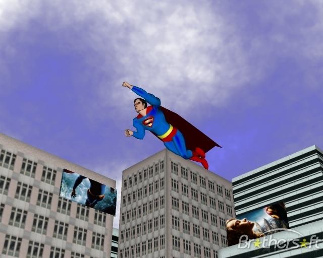 Download Superman Returns 3D Screen Saver Superman Returns 3D 640x512