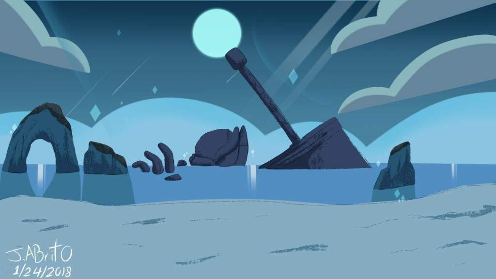 New SU inspired background Cartoon Amino 1024x576
