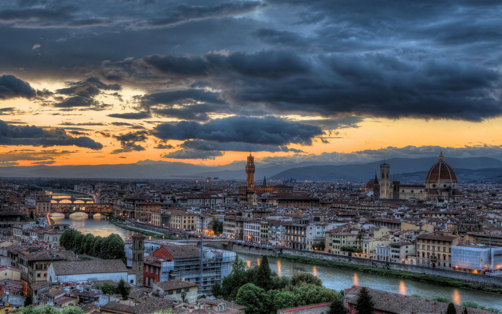 City Florence Renaissance Italy Tuscany wallpaper 1680x1050 122402 1680x1050