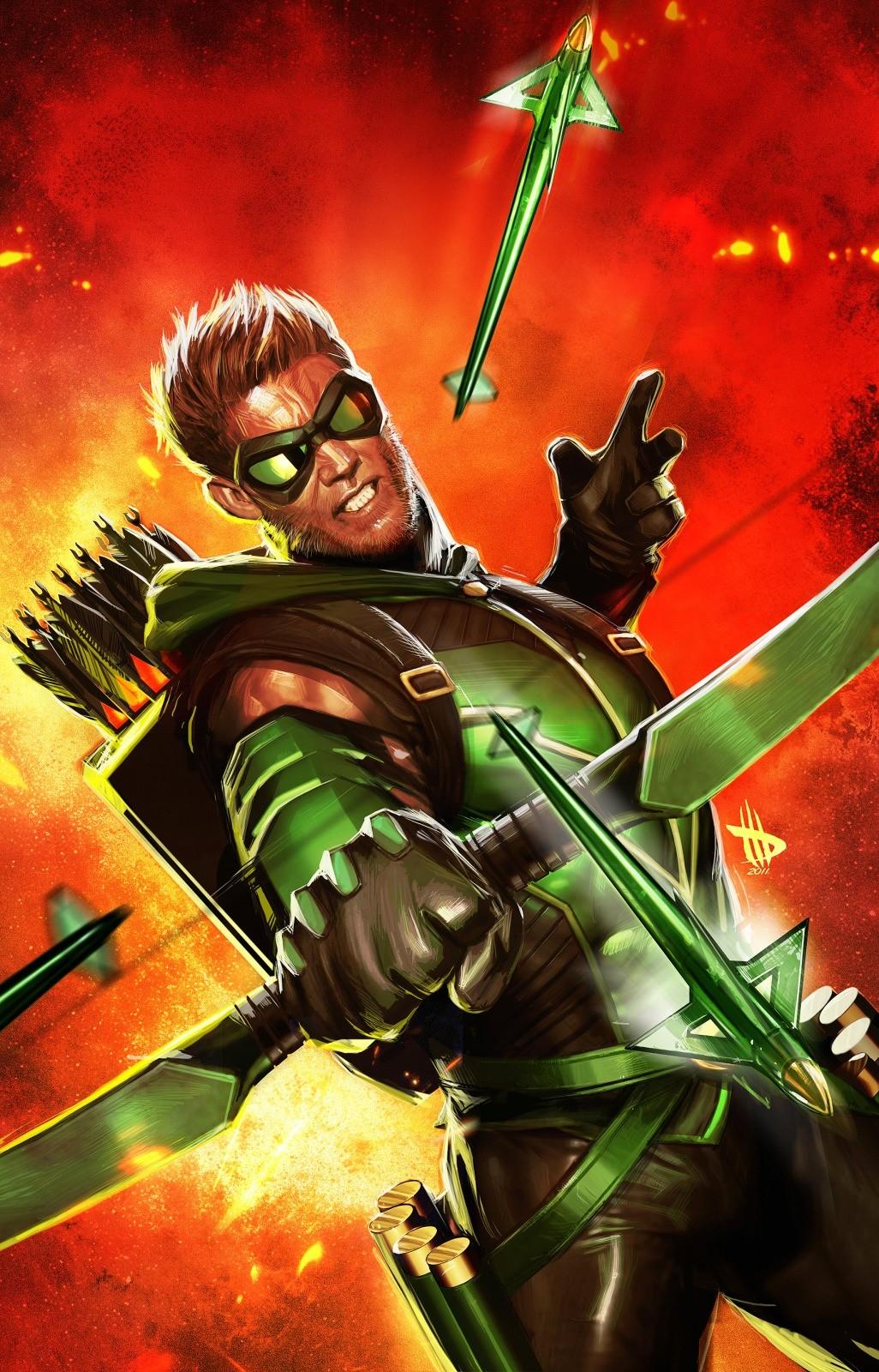 Wallpaper 1026x1600 DC Comics Superheroes Justice League Green 1026x1600