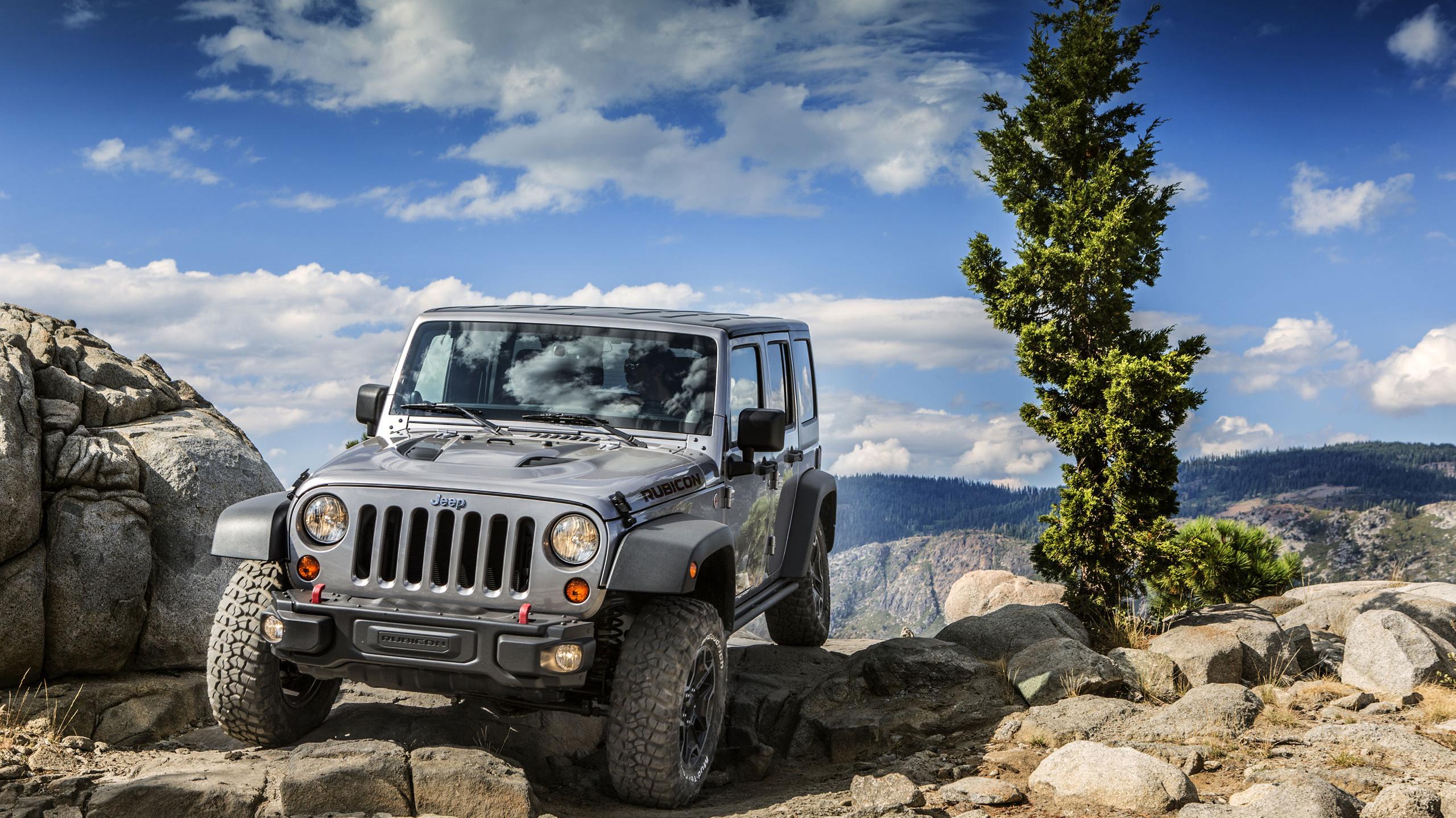 2013 Jeep Wrangler Rubicon 10th Anniversary Edition Wallpaper HD Car 2560x1440