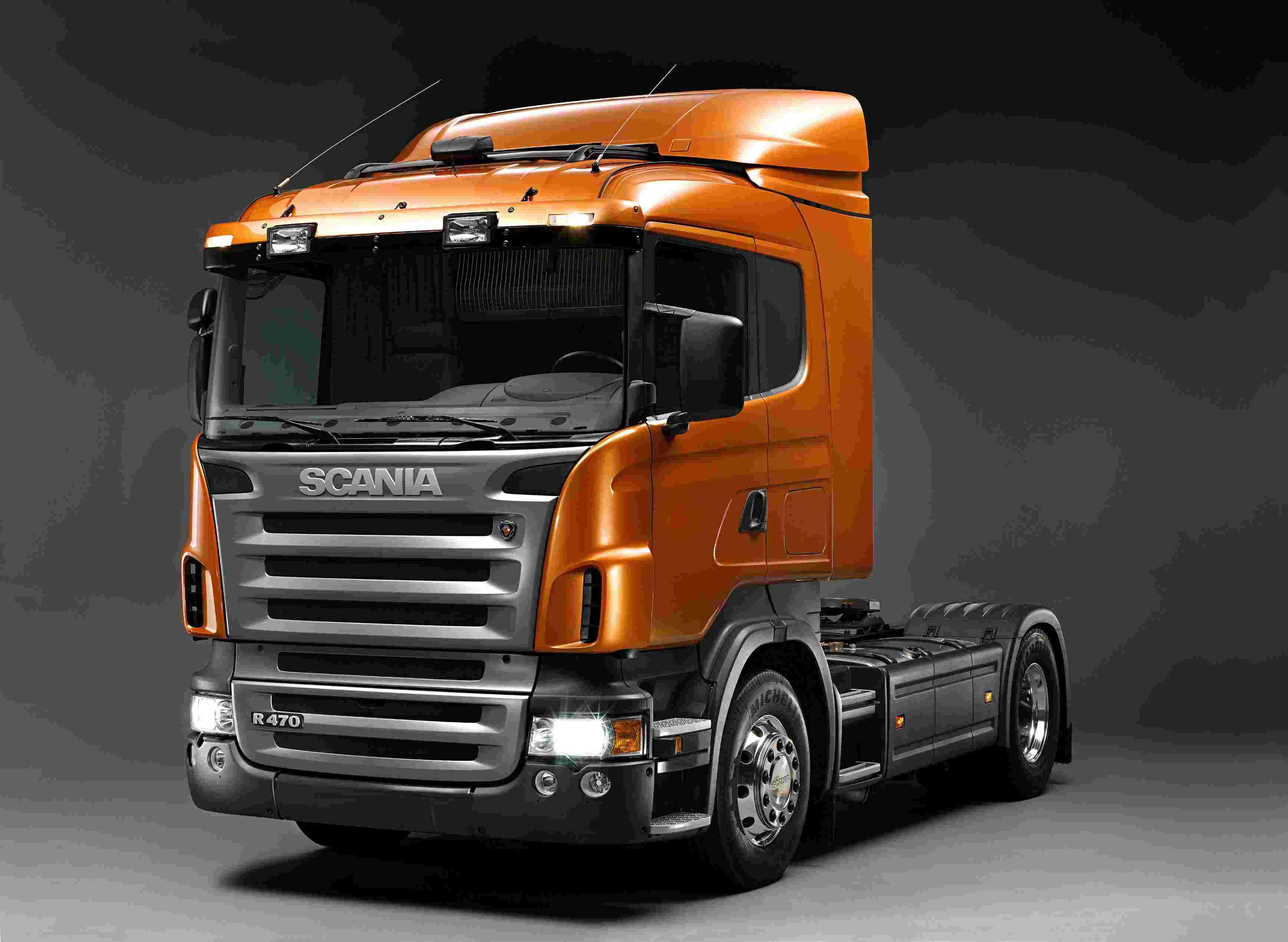 Scania Truck Cartoon Trucks Wallpapers 3473x2539