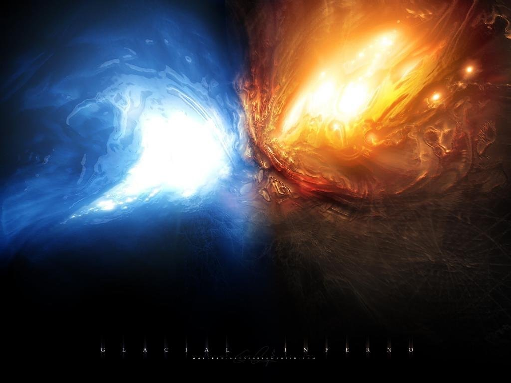 Free Download Fire And Ice Wallpapers Metal Abstract Heavy