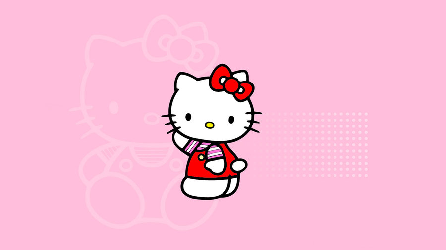 Wallpaper Hello Kitty Pink by MFSyRCM 900x506