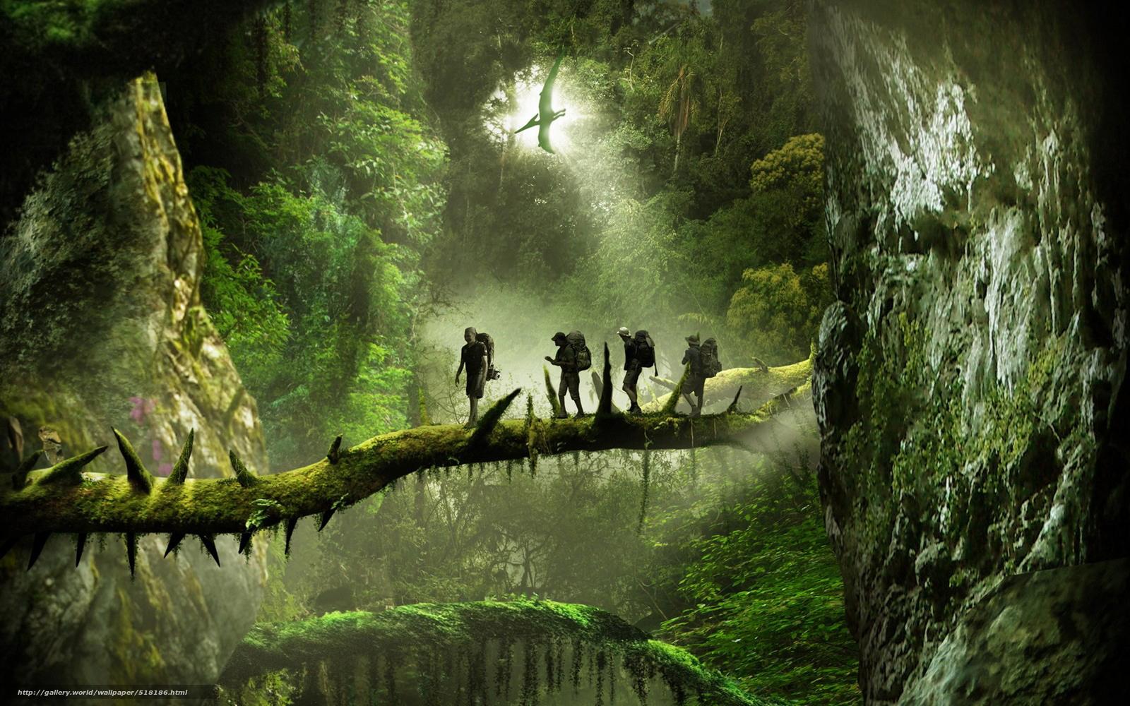 Wall Mural Wallpaper Prehistoric Jungle Wallpaper Wallpapersafari