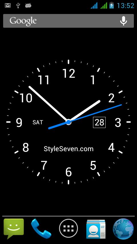 Analog Clock Li 1mobilecom 480x854