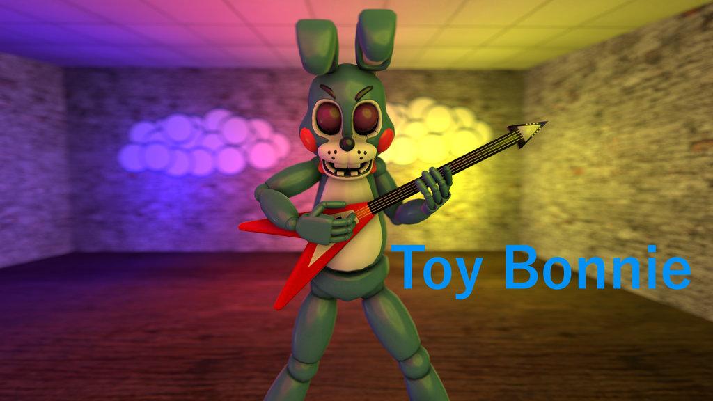 Toy Bonnie Wallpaper by Darkythebat 1024x576