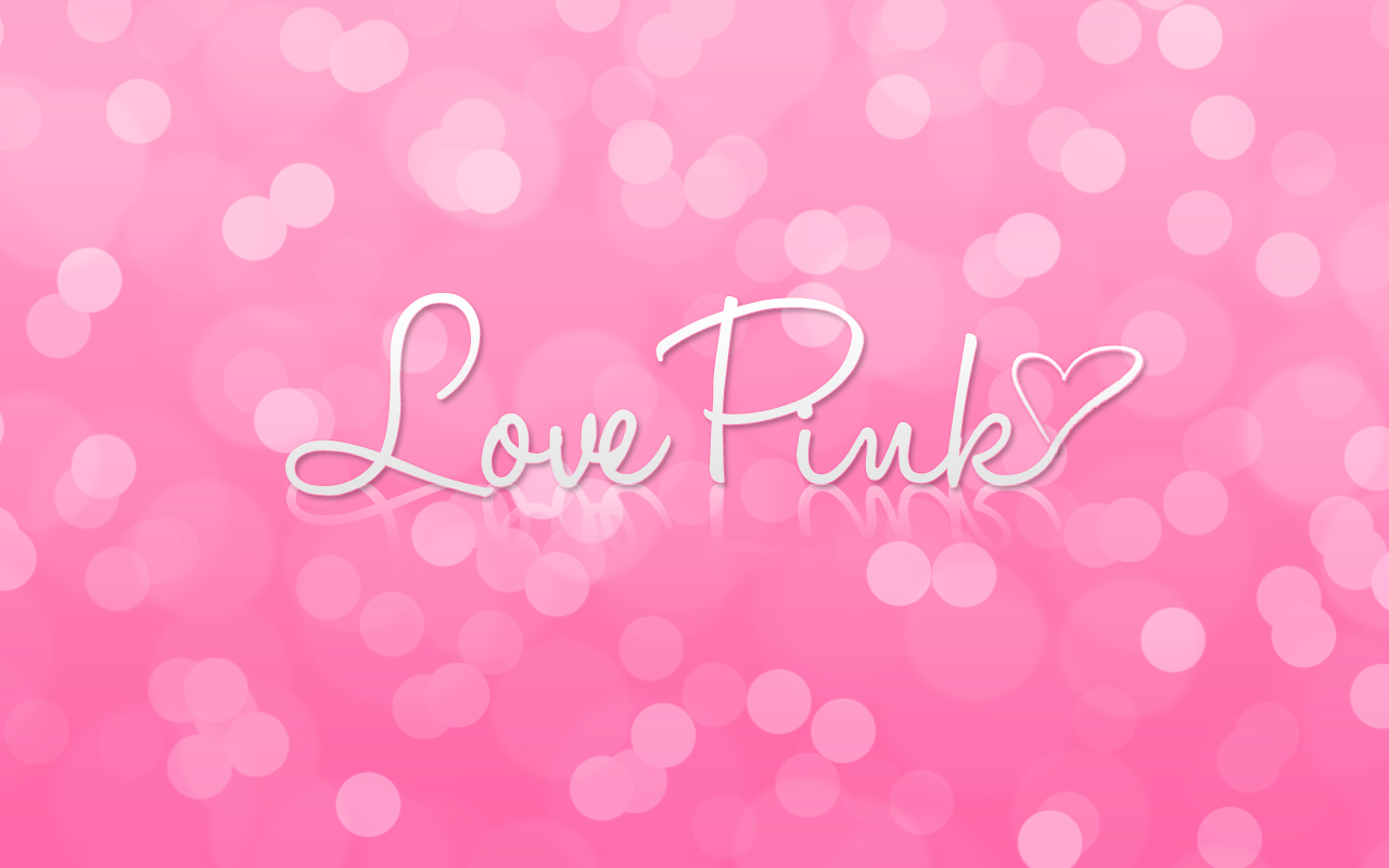 Love Pink Wallpaper and iPad Pack for ThePinkLover by CupcakeyKitten 1280x800