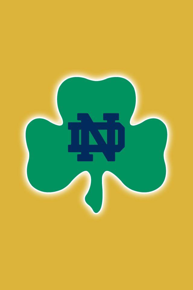Notre Dame Fighting Irish Wallpaper notre dame fighting irish 640x960