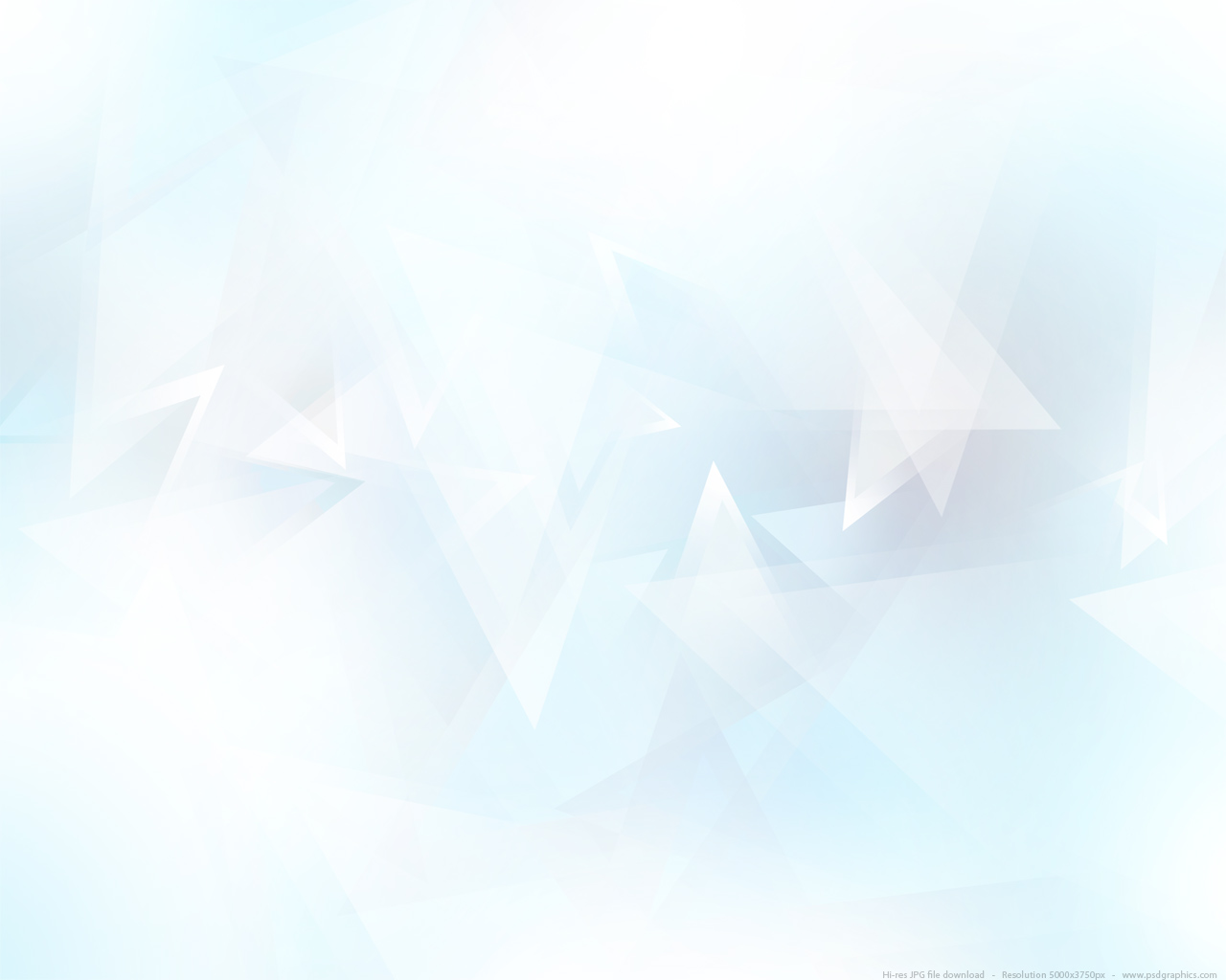 Abstract light blue triangles background PSDGraphics 1280x1024