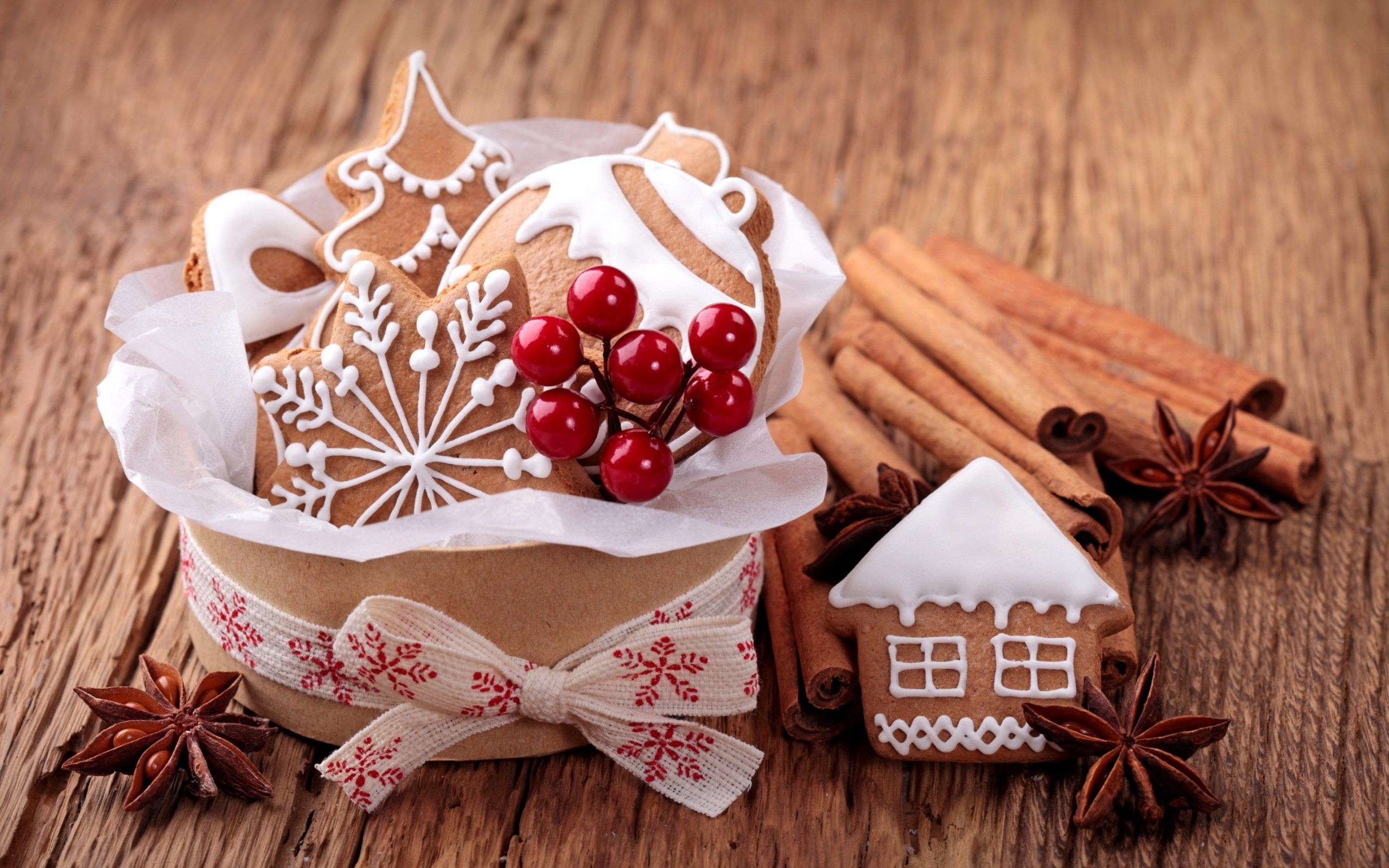 good sweets for christmas Full HD Wallpaper and Background 2560x1600