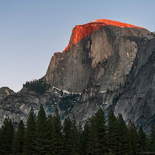 Half Dome Yosemite National Park Wallpaper for iPad 500x500