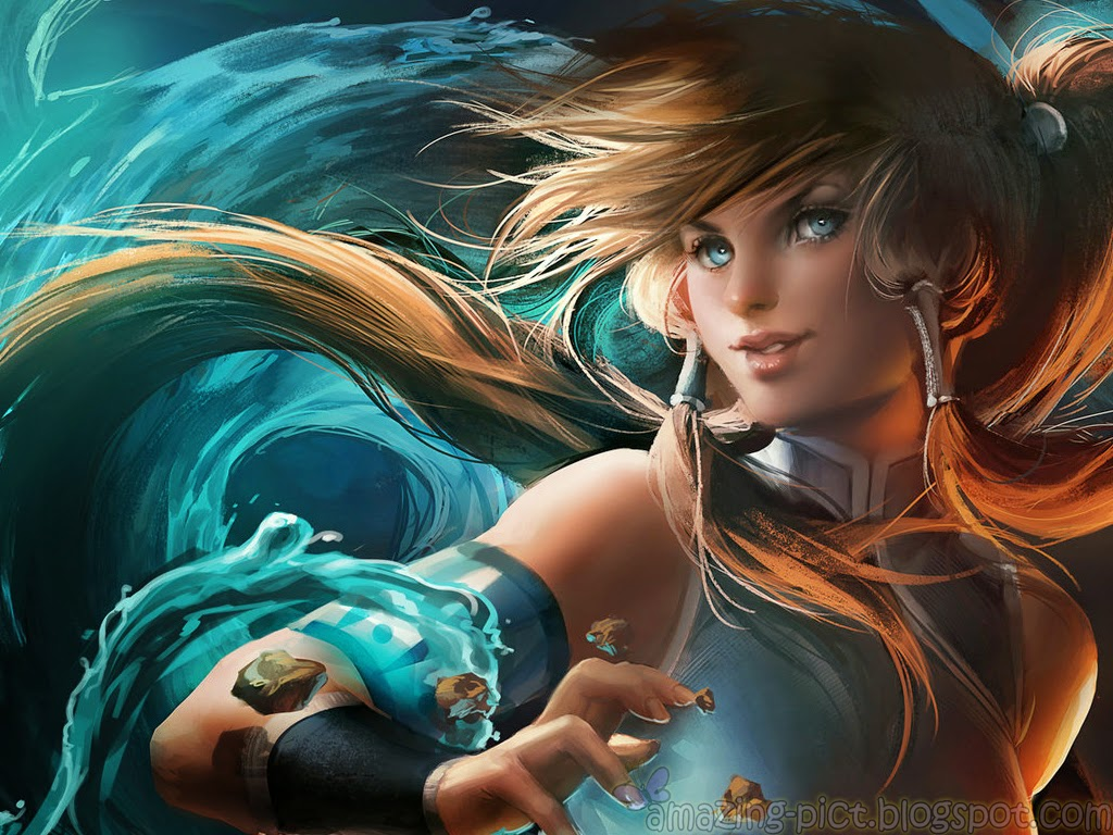 Avatar Korra Waterbending Wallpaper Part 3 Amazing Picture 1024x768