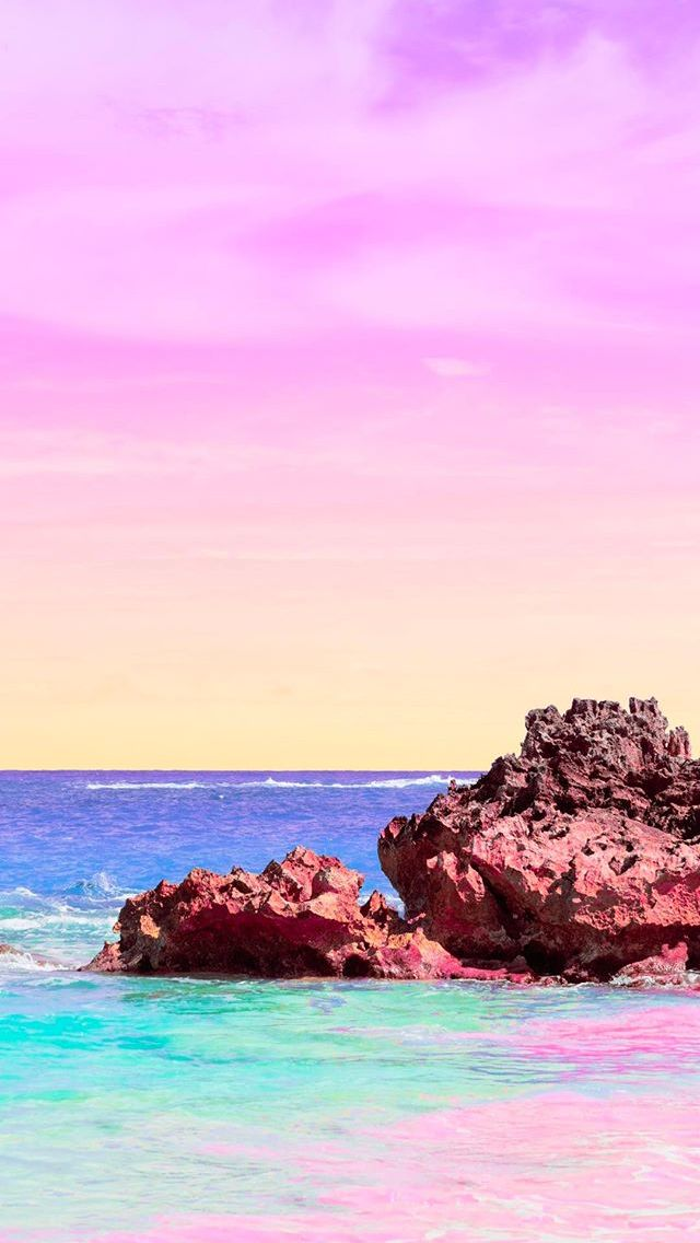 Matt Crump photography iPhone wallpaper Pastel Bermuda 640x1136