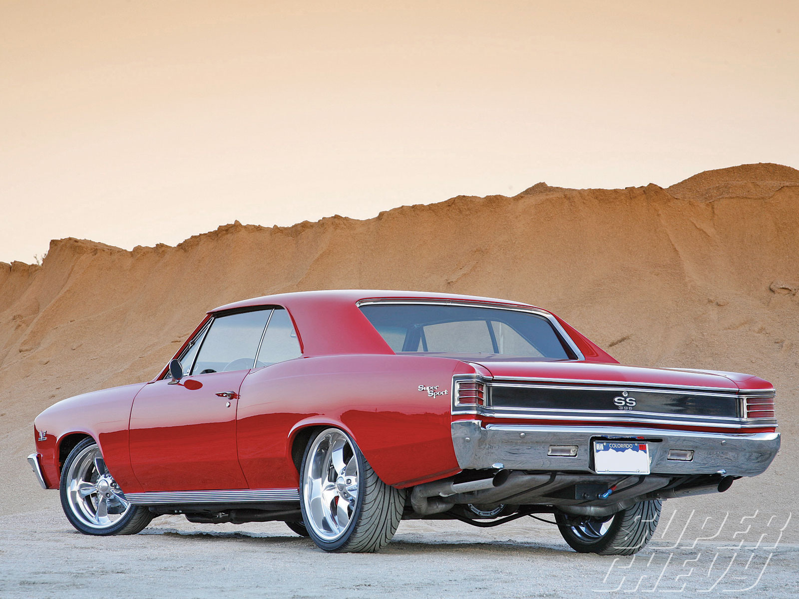 1967 Chevelle Rear Taillights 1600x1200