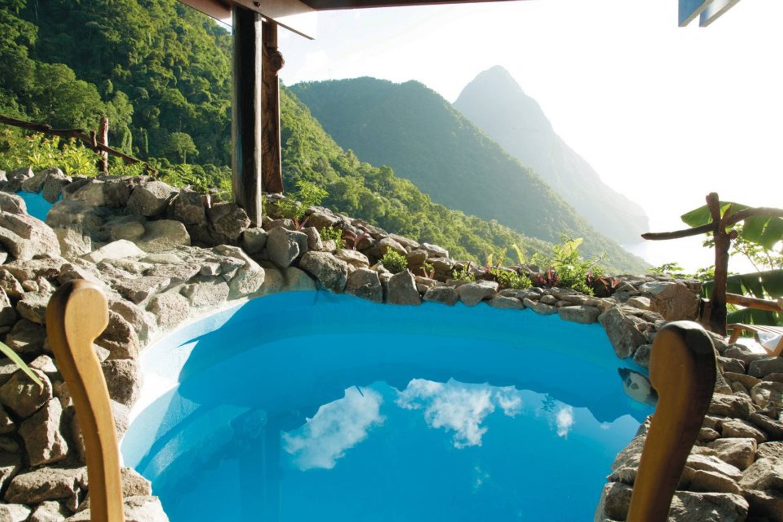 out from Ladera Spa in St Lucia Car wallpaper   ForWallpapercom 2500x1667