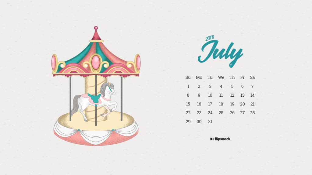 July 2018 wallpaper calendar   Flipsnack Blog 1024x576