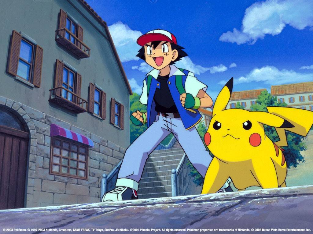 Ash Pikachu Card Pokemon Ash And Pikachu Pokemon Picture Wallpaper 1024x768