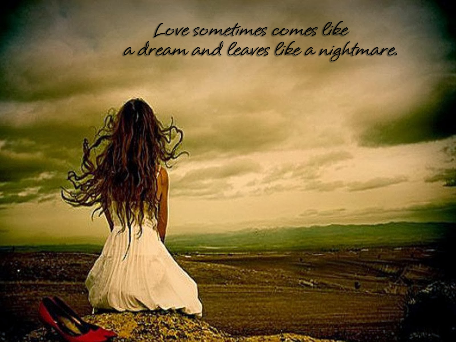 Wallpapers Sad Love Quotes Wallpapers Sad Love Quotes For Her For 1600x1200