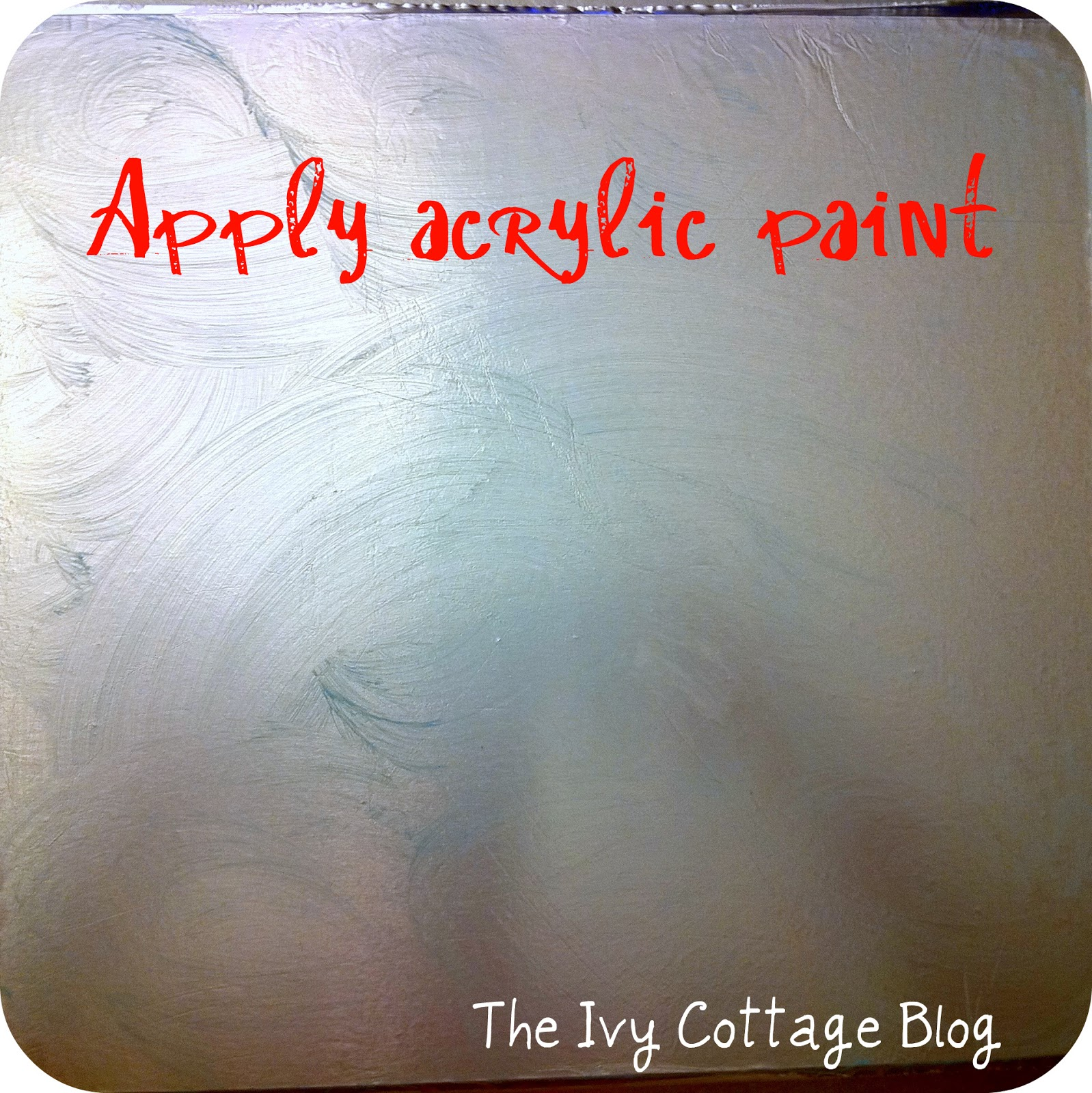 Free Download Adding Acrylic Paint The Paint Really Sticks To The