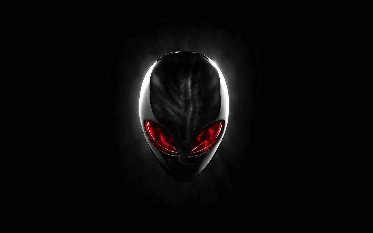 alienware fond ecran 11la mascotte des gamers Alienware lemblme 1280x800