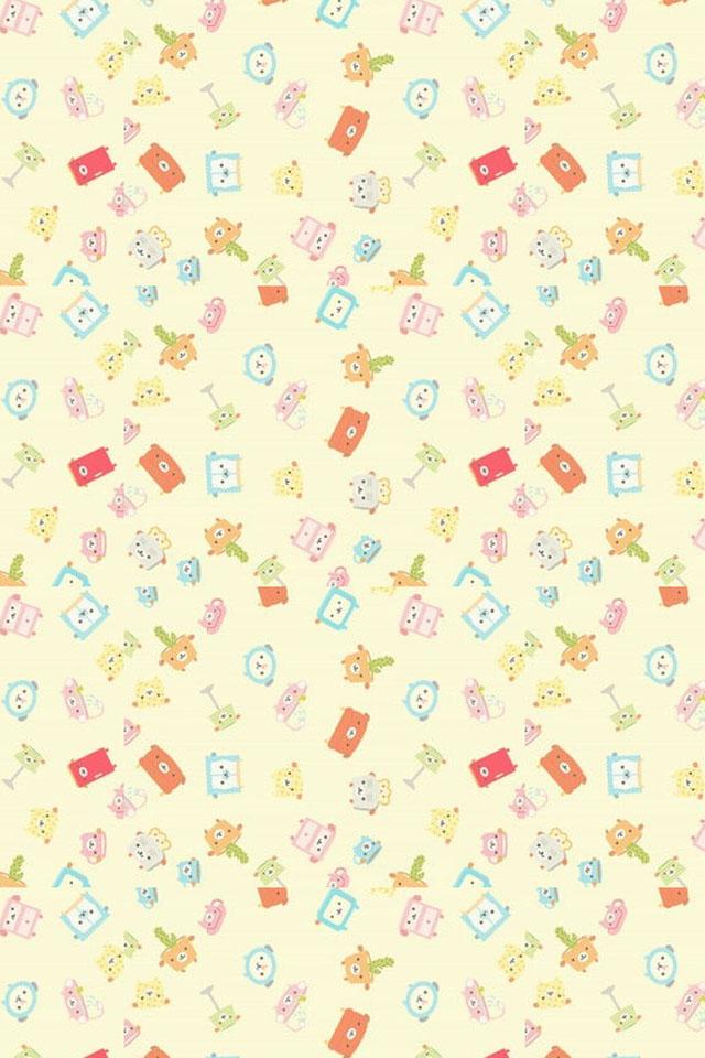 Cute cartoon iPhone 4s Wallpaper Download iPhone Wallpapers iPad 640x960