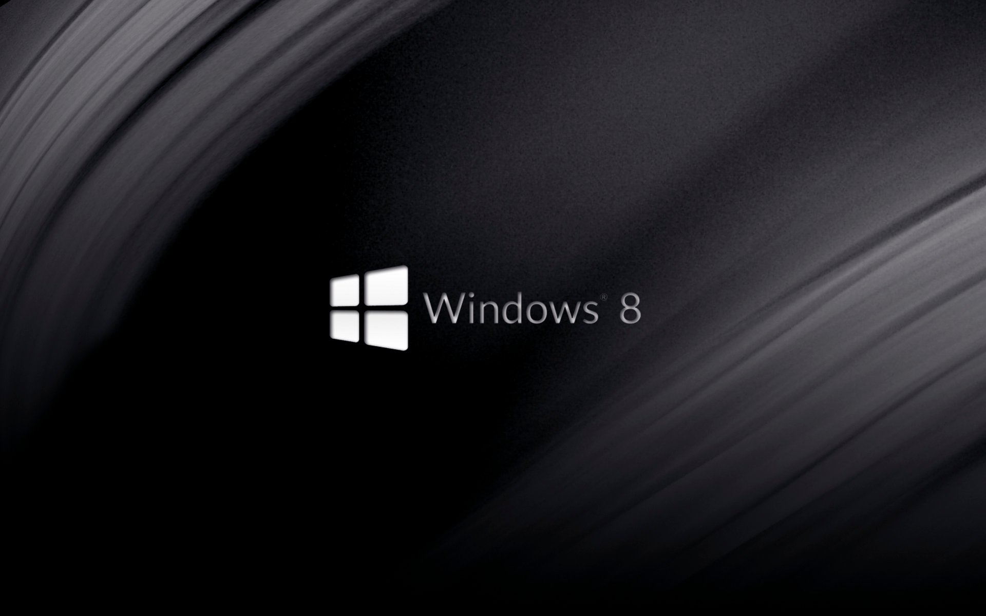 Minimal Black   Windows 8 Wallpaper by Wingweaver666 1920x1200