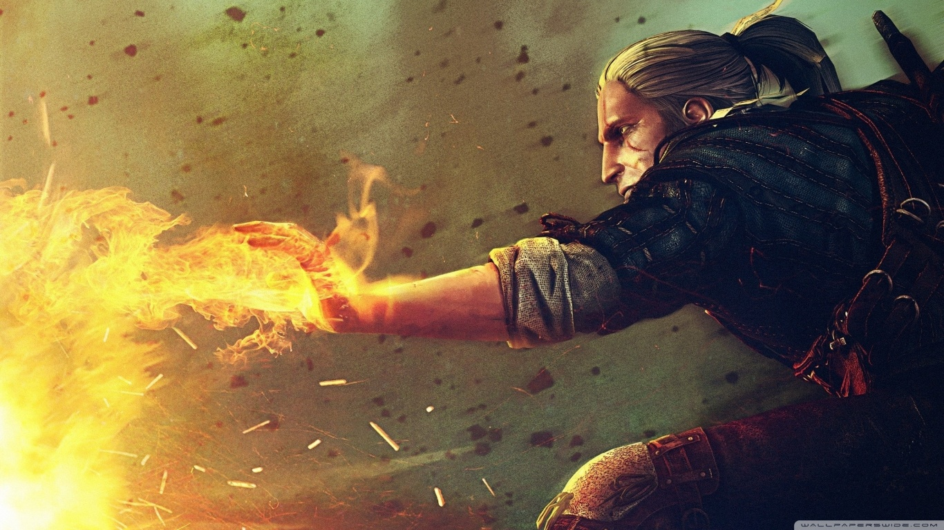Assassins Of King Wallpaper The Witcher 2 Hd Important Wallpapers 1366x768