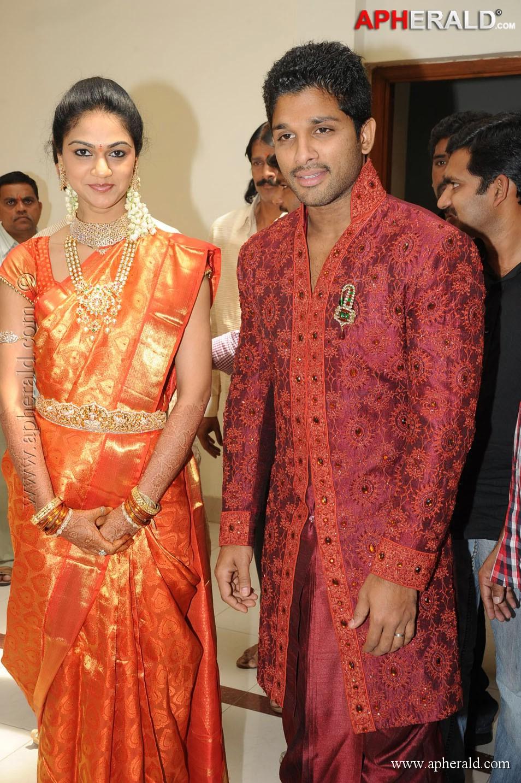 Allu Arjun Sneha Reddy Photos 954x1433