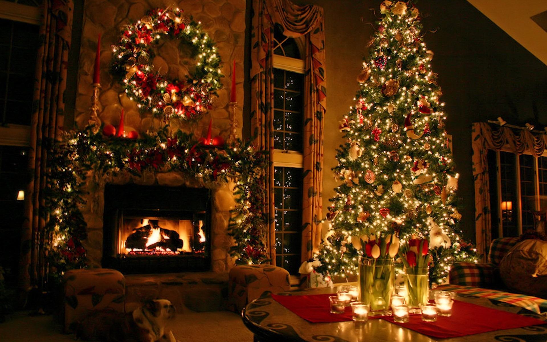 Beautiful Christmas Desktop Wallpaper 1920x1200