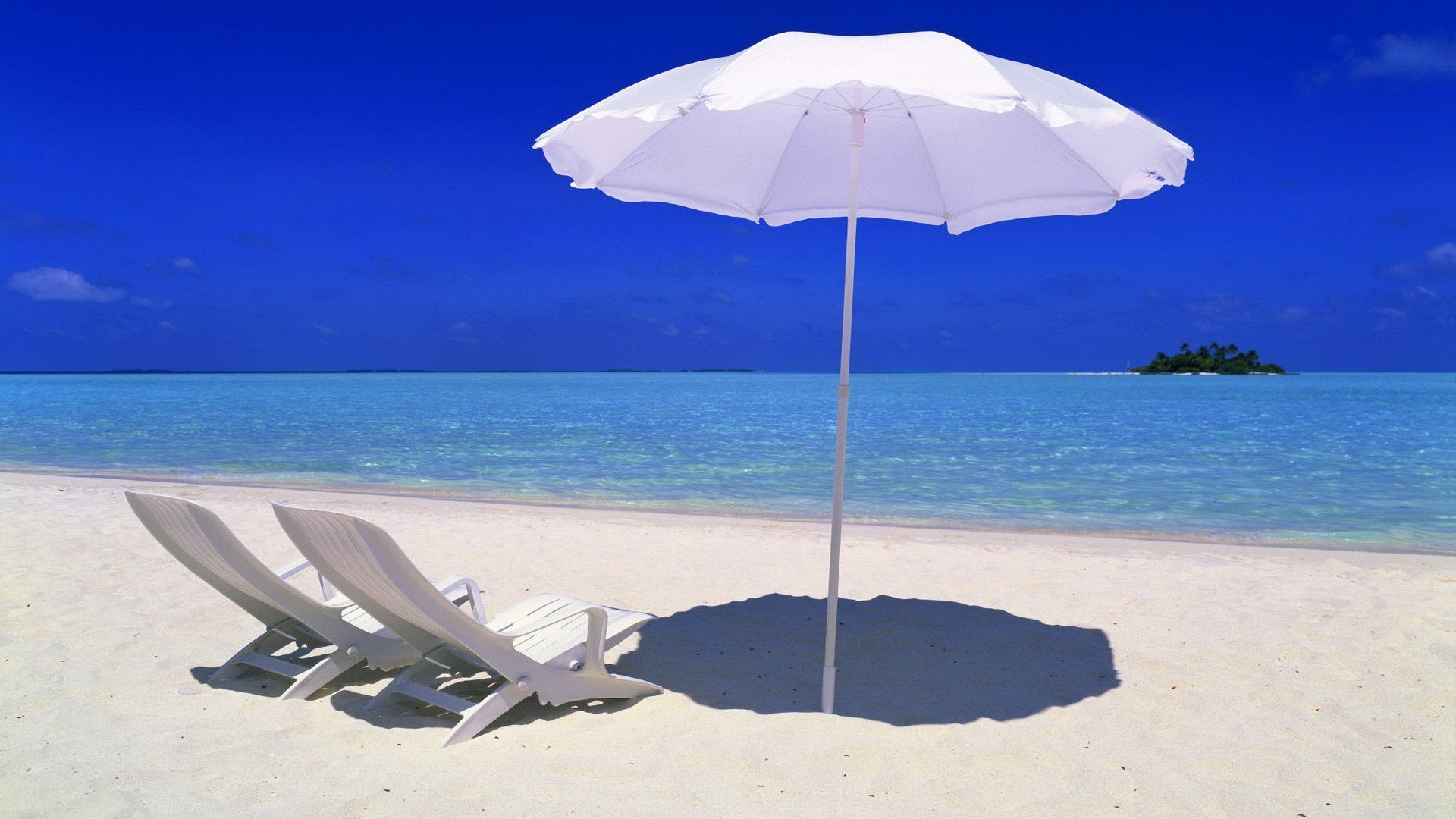 Beach chair and umbrella wallpaper - Best Tropical Beach With Chairs Hd Photo Galeries Best Wallpaper