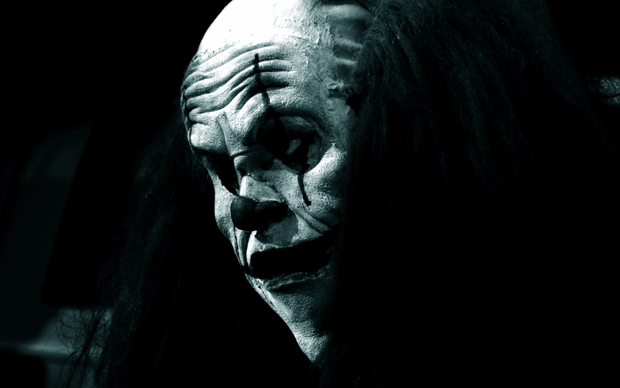 Scary Clown Wallpaper 2560x1600 Wallpapers 3d fr Desktop 3D Bilder 2559x1600