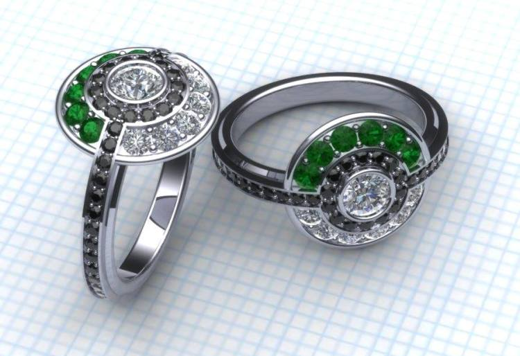 Latest Trends Of Geeky Wedding Rings 2014 2015 For Girls Stylein 750x514