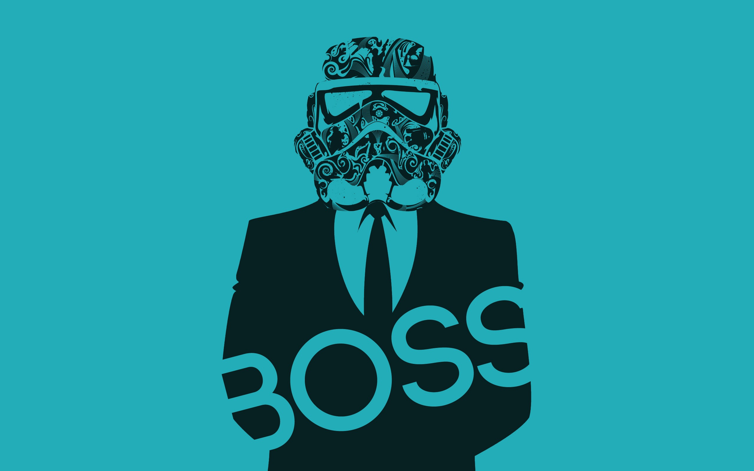Star Wars boss Storm Trooper wallpaper background 2560x1600