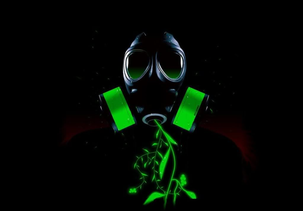 Cool Toxic Logo Toxic gasmask picture by 1023x712