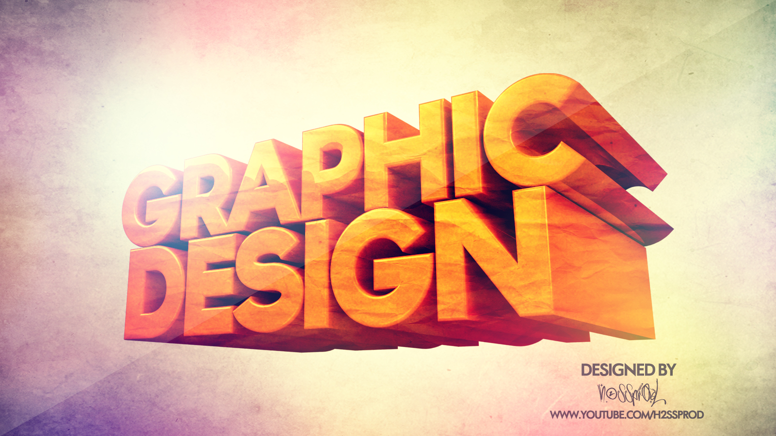 WALLPAPER GRAPHIC DESIGN 3D BY H2SSPROD by H2SSPROD 1600x900