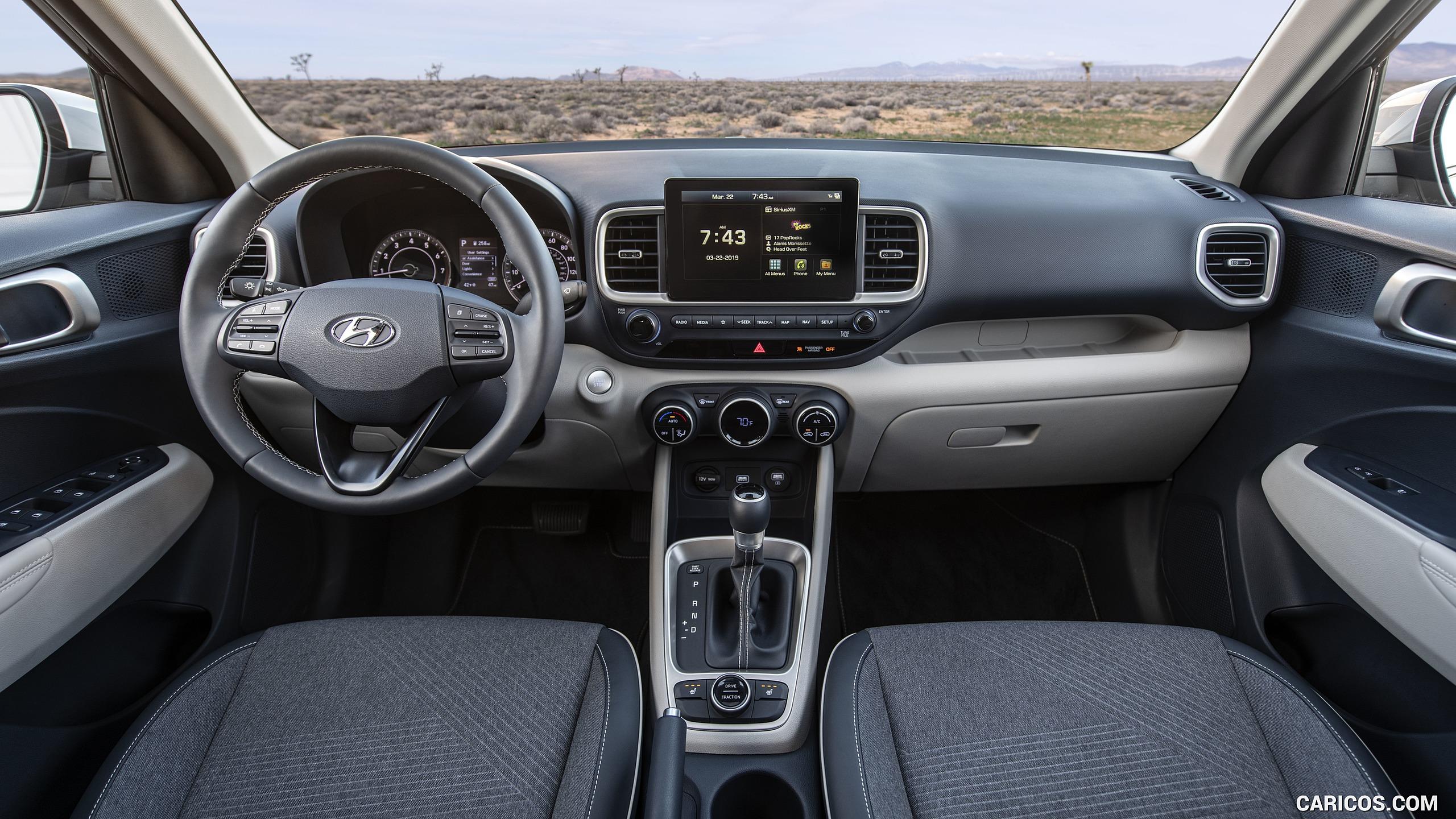 2020 Hyundai Venue   Interior Cockpit HD Wallpaper 19 2560x1440