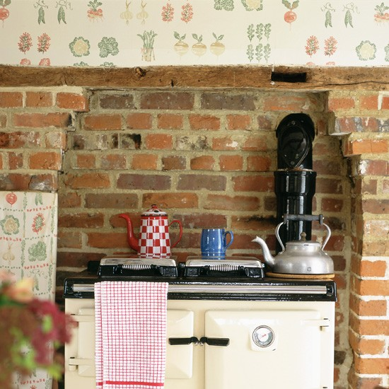 Fruit Wallpaper For Kitchen Rustic kitchen with fruit and 550x550