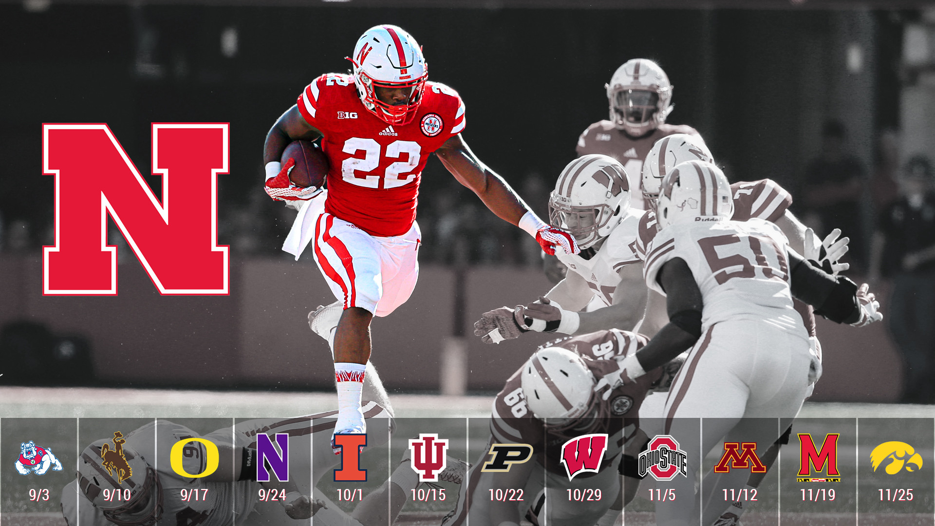 72 Nebraska Husker Wallpapers on WallpaperPlay 1920x1080