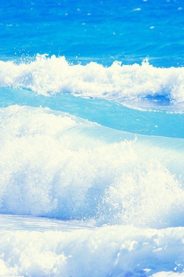 Ocean Waves iPhone HD Wallpaper iPhone HD Wallpaper download iPhone 640x960