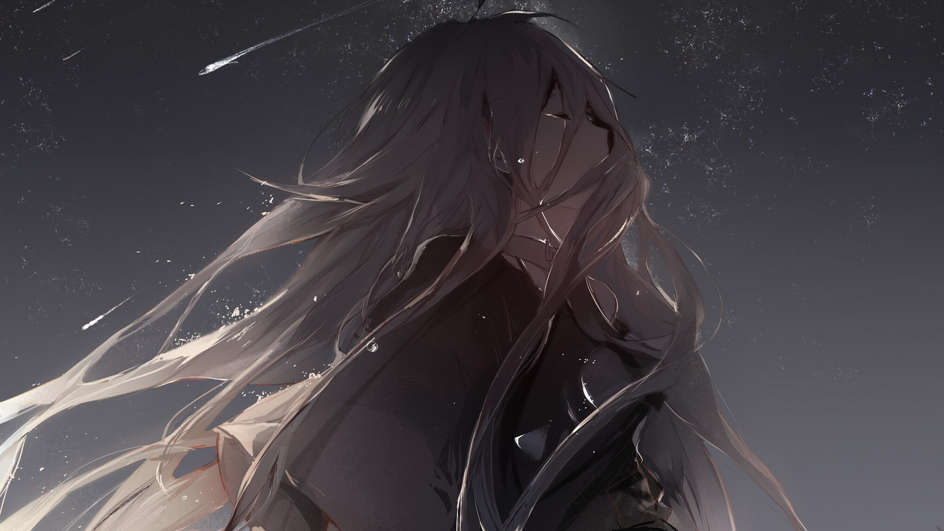 Free Download Sad Anime Girl Wallpapers Hd Backgrounds Images Pics