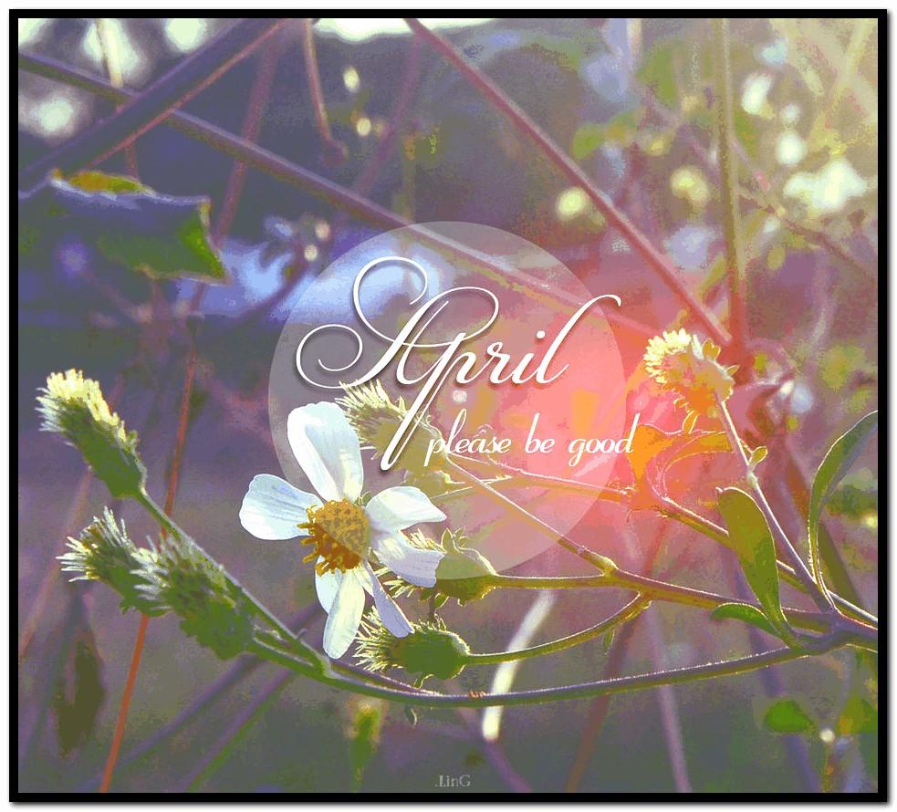 April Calendar Wallpaper Hd : Hello april wallpaper wallpapersafari