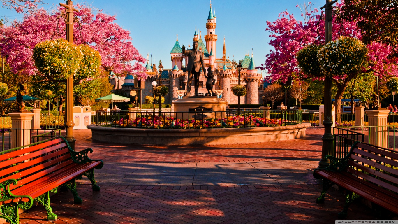 28 Disneyland HD Wallpapers Backgrounds Wallpaper Abyss 1366x768