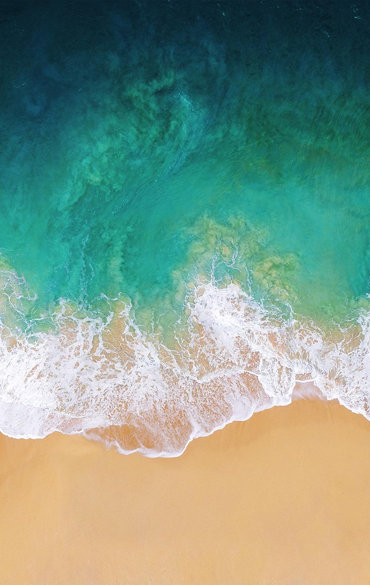 iOS 11 Wallpaper iPhone iPad 744x1176