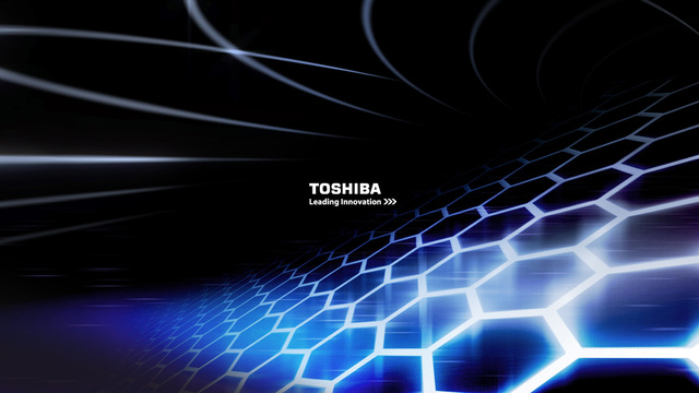 Toshiba Leading Innovation Wallpaper 640x360