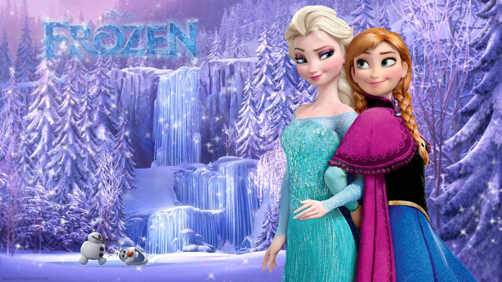 Frozen Wallpaper Disney Wallpapersafari