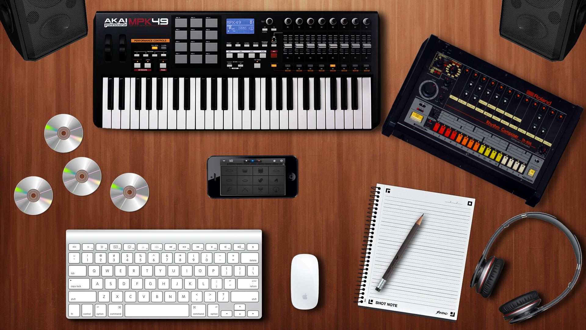 Music Production Wallpaper - WallpaperSafari