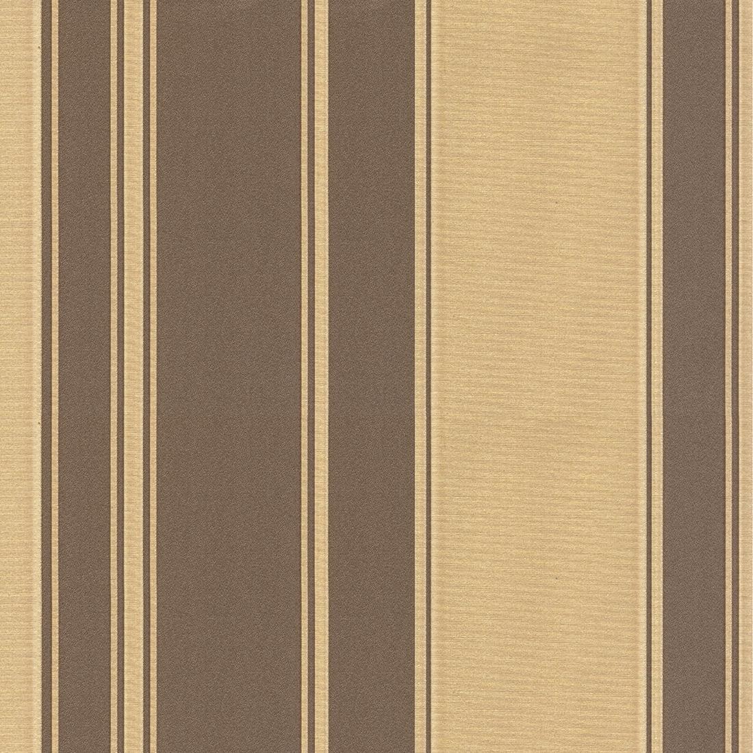 Regency Stripe Brown Gold Wallpaper from Seriano by Belgravia Decor 1100x1100